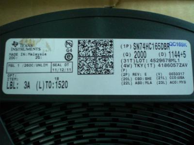 SN74HC165DBR TI 移位寄存器 16-SSOP 贴片 全新说球帝直播电脑版在线观看nba说球帝